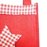 Macht Polyester-Weihnachten 100% Beutel für Weihnachtsgeschenke in Handarbeit