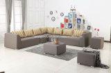 2*2 Textilene Gewebe-moderner im Freienfreizeit-Patio-im Freiensofa (TG-6105)