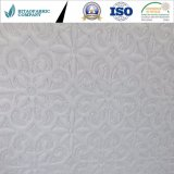 Tela que hace punto barata del blanco 100%Polyester para Matterss&Pillow