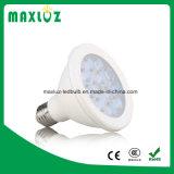 Preiswerte Plastikbirne des aluminium-12W PAR30 LED mit E27 Dimmable