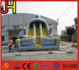Diapositiva inflable gigante del aeroplano de la diapositiva plana inflable