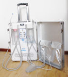 Unidad portable móvil dental de la fabricación con el compresor de aire incorporado de Oilless