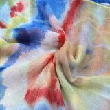 Afdrukkend de Kleurrijke Sjaal van de Polyester voor Vrouwen vorm Bijkomende Sjaal