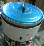 Cuiseur de riz de gaz de LPG de tailles importantes de la cuisine 6L d'hôtel