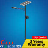 7m Galvanized Post 50W Outdoor LED Solar Street Lighting