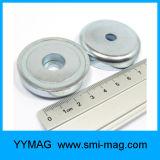 Magneet de van uitstekende kwaliteit van het Neodymium van de Magneet van de Pot met Verzonken Gat