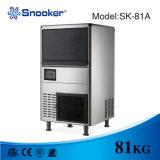 máquina de hielo del cubo del acero inoxidable 420W 304 para el uso comercial