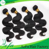 Weave da forma, a melhor onda frouxa, cabelo humano