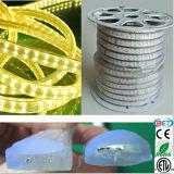 144 LED/M 5050luz exterior Fita LED de fileiras duplas/LED de luz da faixa de LED com ETL
