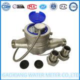 Dn20mm de Multi StraalMeter van het Water van de Output van de Impuls van het Roestvrij staal