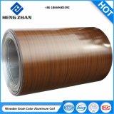 El color de la bobina de techado de aluminio recubierto de 1100, 1060, en aleación 3003