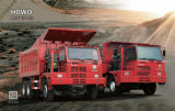 Sinotruk HOWO 6X4 70 тонн добычи погрузчик самосвального кузова