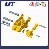 Conetor rápido hidráulico da máquina escavadora das peças sobresselentes da maquinaria