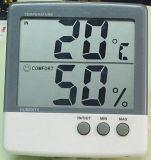 Innentemperatur-und Feuchtigkeits-Grafik-Bildschirm