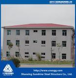 Armazém industrial da construção de aço da porta deslizante