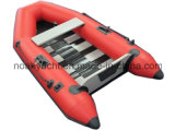 Barca di rematura gonfiabile del PVC
