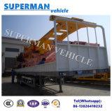 40FT Utiltyの容器および貨物Tranportのサイドウォールのトラックのトレーラー