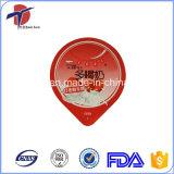 Coperchio del di alluminio di uso della tazza del yogurt di PS o dei pp