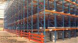 Shelving vivo dinâmico da gravidade para o armazenamento do armazém