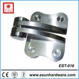Porte en acier inoxydable de haute qualité pour la charnière de pivot de porte en verre