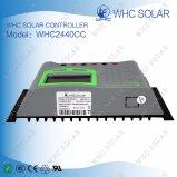 Controlador solar da alta qualidade de PWM 12V 24V 40A para o sistema solar