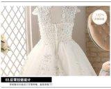 Очаровательный кружевной слоновой костью девочек платье для свадьбы