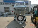 9*5 de tippende Aanhangwagen van de Doos met Kooi