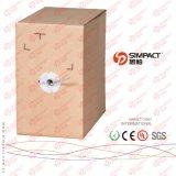 Puro cobre Cat5e UTP Cable LAN