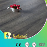 Vinyllaminat lamellierter Bodenbelag des Wachs-AC3 abgeschrägtes hölzernes der Beschichtung-HDF V