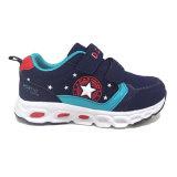 全販売のための欧州諸国の二重ヴェルクロ子供の靴の良質