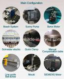 Produtos com a máquina de dobra hidráulica da placa do CNC da seleção larga Wc67y 400*2500