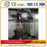 CNC 트럭 제동용 원통 또는 차 바퀴 격판덮개 디스크 선반을%s 수직 절단 선반 또는 도는 기계