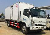 Isuzu 700p 4X2 gekühlte des LKW-6 bis 8 Tonnen Kühlraum-Lastwagen-