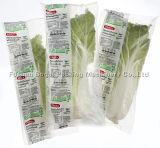 Embalagem vegetal Machinein Foshan do malote dos espargos inoxidáveis cheios fáceis do aipo da operação