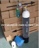 Bombola per gas di alluminio di immersione subacquea impostata (2.9L)