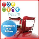 풍선 시간 헬륨 가스 탱크 풍선 헬륨