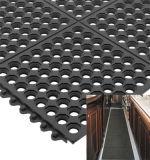 Couvre-tapis en caoutchouc antidérapage en caoutchouc de résistance tuile/de couvre-tapis/pétrole en caoutchouc User-Résistants de cuisine