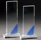 De Toekenning van de Trofee van het Kristal van het glas