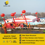 전람 무역 박람회 (HAF 40M)를 위한 40m 큰 알루미늄 천막