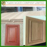 MDFのキャビネットドアは絵画合板のカシの表面を放す