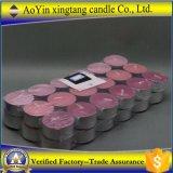 De in het groot 14G Gebemerkte Kaarsen van Tealight van de Lage Prijs van de Lavendel