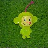 아이 건강한 저속한 원숭이 공을%s 가진 플라스틱 아기 장난감 공