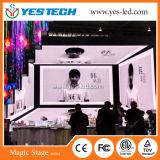 Pubblicità dell'affitto che appende lo schermo di visualizzazione del LED della Corea