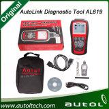 100% Original Auel Autolink Al619 ABS / SRS + Outil d'analyse de diagnostic Obdii de l'outil Autel Al619 Update Auto Link Al 619