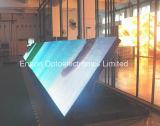 Tabellone di pubblicità orientato verso i servizi della fonte tipografica P10 (parte anteriore aperta)