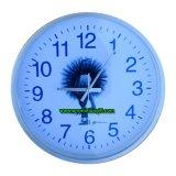 De plástico promoción silenciosa decorativo Reloj de pared de cuarzo