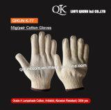 K-77 50g/paire tricoté abat-jour de sécurité de travail des gants de coton