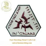 カスタム良質の星トークン折りえりPinの刺繍のバッジの製造業者