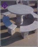 庭の装飾的な表のための自然な花こう岩の家具