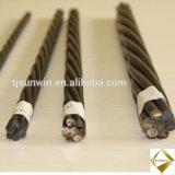 """Le câble de Acero 0,6""""/15.24mm ASTM 416 / Gr270/ Baja Relajacion"""